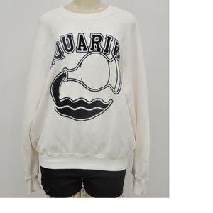 Good American Women's Aquarius Sweatshirt Size 2/3
